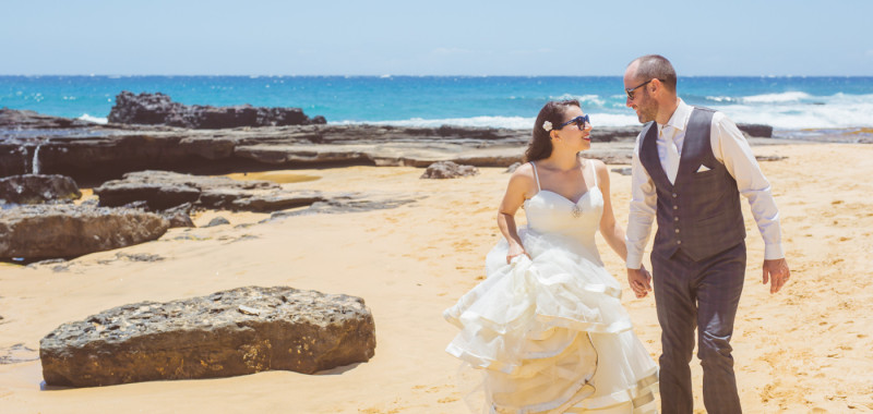 Alisia & Jim Hawaii Wedding Next Day Photoshoot
