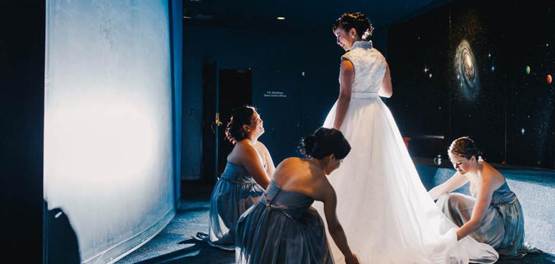 Elaine & Sherman Wedding @ Space Center & Starlight Kirin
