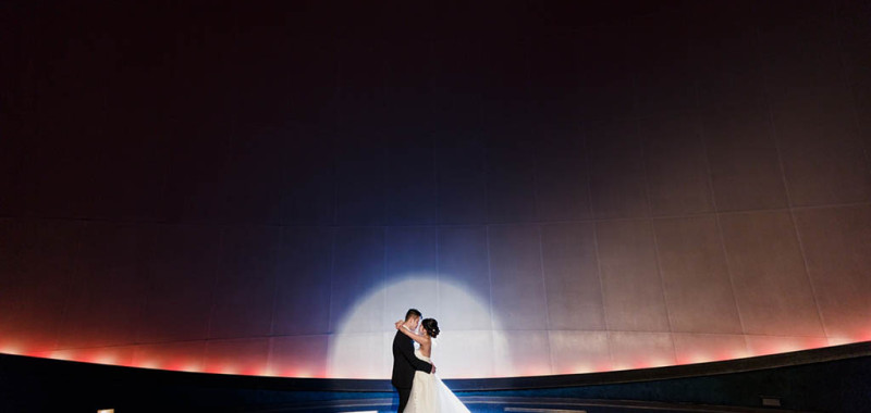 Elina & Toby Wedding Day Highlight - Science World at Telus World of Science