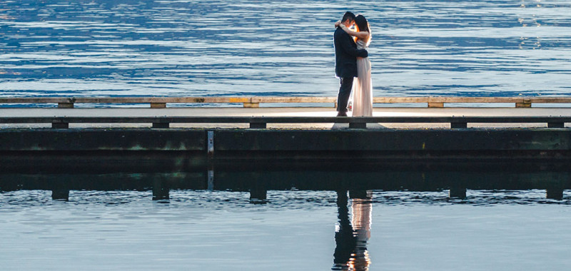 Coal Harbor Engagement Photoshoot
