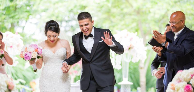 Linda & Arash - Wedding Day Highlight photos