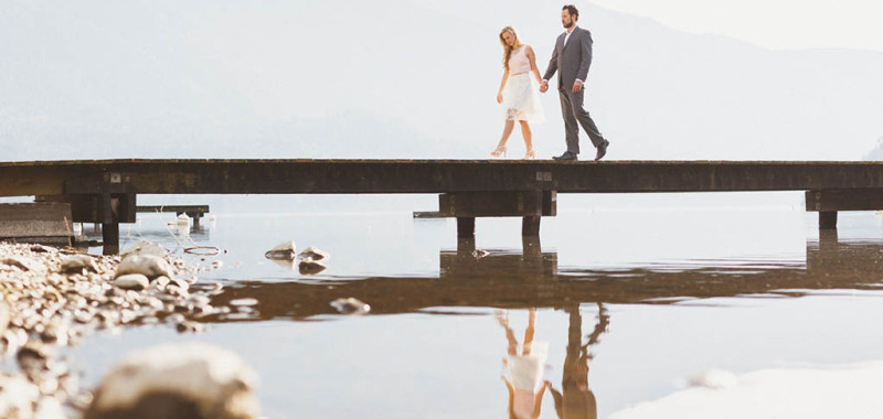 Rae-Lynn & Ian - Cultus Lake Engagement shoot