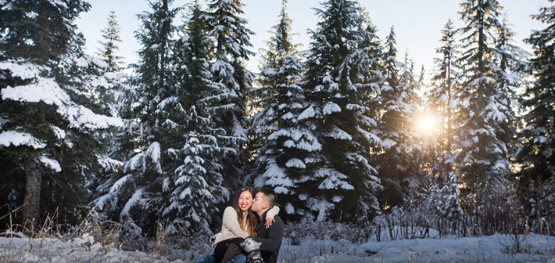 SHELLEY & PETER | GROUSE MOUNTAIN ENGAGEMENT PHOTOSHOOT| VANCOUVER