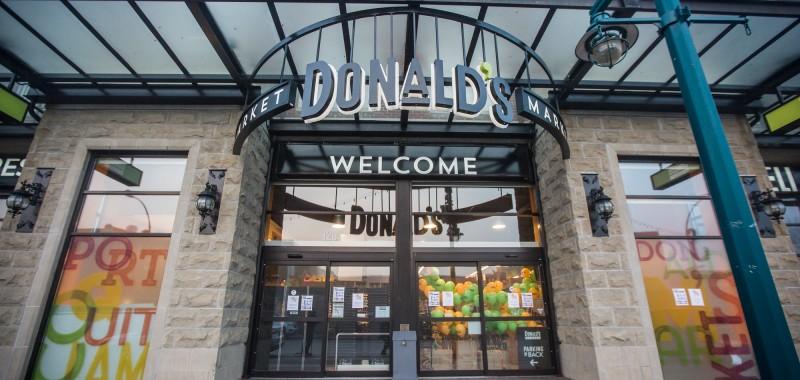 DONALD'S MARKET OPENING | PORT COQUITLAM