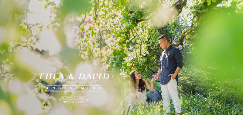 VANCOUVER ENGAGEMENT PHOTOSHOOT | THIA & DAVID | DEER LAKE, VANCOUVER