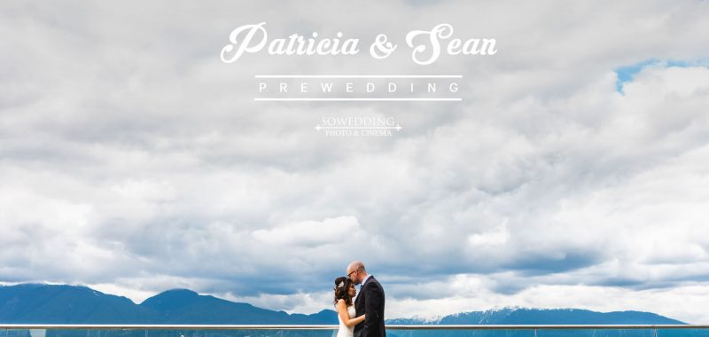 VANCOUVER PRE-WEDDING PHOTOSHOOT | PATRICIA & SEAN|COAL HARBOUR, VANCOUVER
