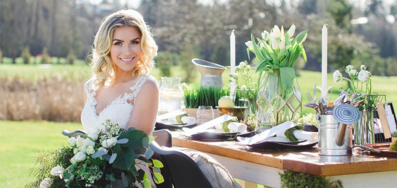 TSAWWASSEN SPRINGS GOLF STYLED SHOOT | (For) Ever Green | VANCOUVER PHOTOGRAPHERS & VIDEOGRAPHERS