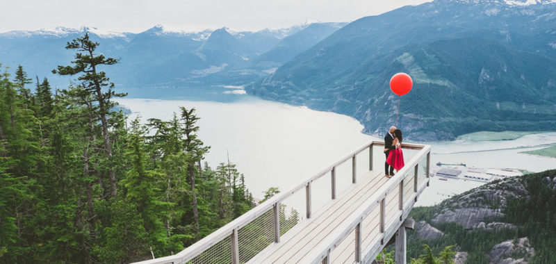 VANCOUVER ENGAGEMENT PHOTOSHOOT | BOBBY & SERINA | SEA TO SKY gondola, squamish