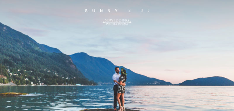 VANCOUVER ENGAGEMENT PHOTOSHOOT | SUNNY & JJ | Brunswick Beach, Lions Bay, BC