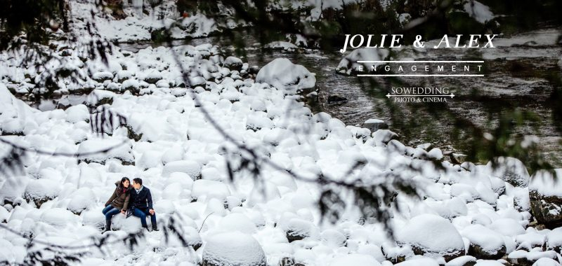 VANCOUVER ENGAGEMENT PHOTOSHOOT | JOLIE  & ALEX | LYNN CANYON PARK, NORTH Vancouver, BC