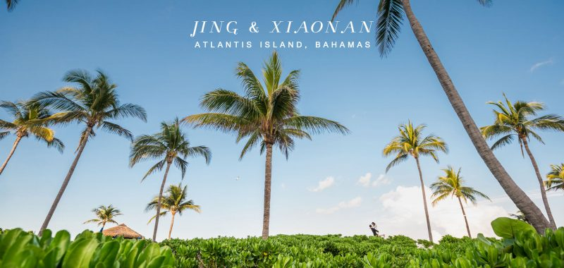 VANCOUVER WEDDING PHOTOGRAPHY | JING and XIAONAN | ATLANTIS PARADISE ISLAND, BAHAMAS