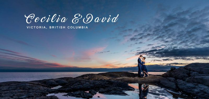 VANCOUVER PRE-WEDDING PHOTOSHOOT | CECILIA and DAVID | LIGHTHOUSE, HATLEY CASTLE and  Parliament Building , VICTORIA, BC, CANADA