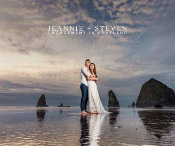 VANCOUVER ENGAGEMENT PHOTOSHOOT | JEANNIE & STEVEN | PORTLAND, OREGON, USA