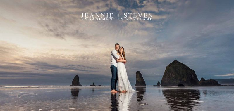 VANCOUVER ENGAGEMENT PHOTOSHOOT | JEANNIE & STEVEN | PORTLAND, OREGON, USA