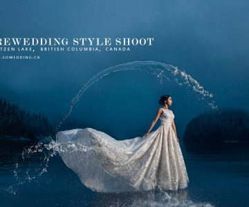 VANCOUVER PRE-WEDDING STYLE SHOOT | BUNTZEN LAKE, VANCOUVER, CANADA