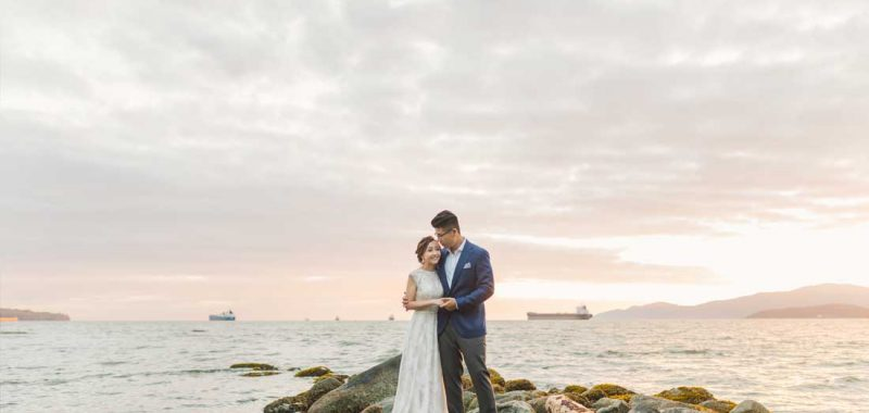 VANCOUVER PRE-WEDDING PHOTO + VIDEO | JUDY and LAWTON | STANLEY PARK, UBC and GASTOWN, VANCOUVER