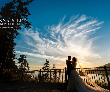 VANCOUVER PRE-WEDDING PHOTO | ANNA and LEO | STANLEY PARK, VANCOUVER