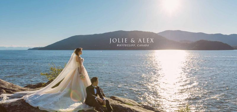 VANCOUVER PRE-WEDDING PHOTO | JOLIE and ALEX | WHYTECLIFF, VANCOUVER