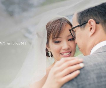 VANCOUVER WEDDING PHOTOGRAPHY | VY AND BRENT | Holy Name of Jesus Church and Rosewood Hotel Georgia