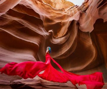 VANCOUVER PRE-WEDDING STYLE SHOOT | Owl Canyon, Arizona, USA