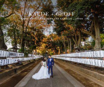 VANCOUVER WEDDING PHOTOGRAPHY AND VIDEOGRAPHY | KAEDE AND GEOFF | Camelot Hills Saitama and Kawagoe , Japan