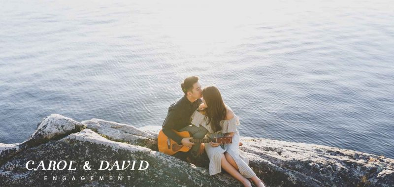 Vancouver Engagement Photography | Carol and David | Whytecliff Park, Vancouver