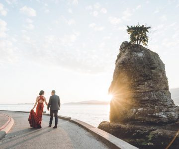 Vancouver Engagement Photography | Wendy and Michael | Stanley Park, Vancouver