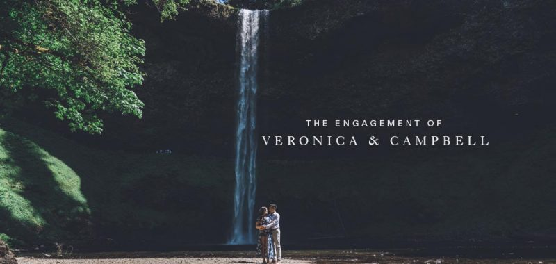 Vancouver Engagement Photography | Veronica and Campbell | Portland, Oregon